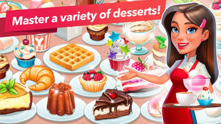 My Cafe - Restaurant Management gameplay